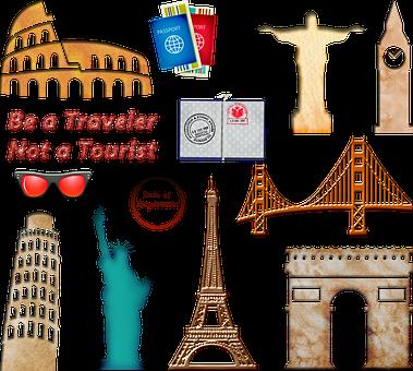 World Travel Landmarks, Passport Travel, Europe