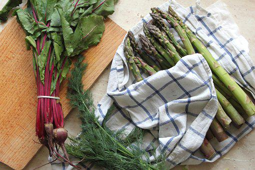 Asparagus, Botwinka, Beets, Young Beets, Vegetables