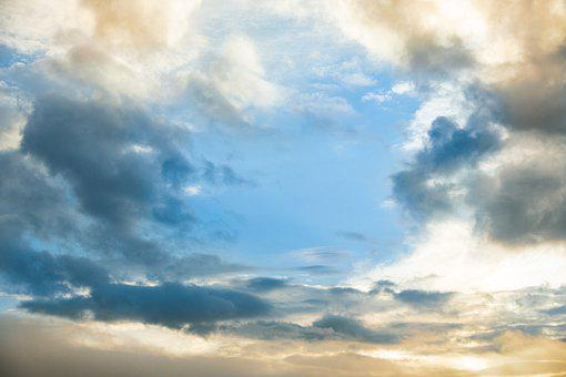 Clouds, Sky, Mood, Weather, Atmosphere, Air
