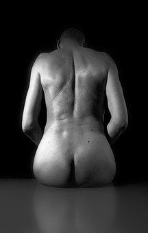Grain Of Beauty, Man, Body, Human Body, Only, Nu