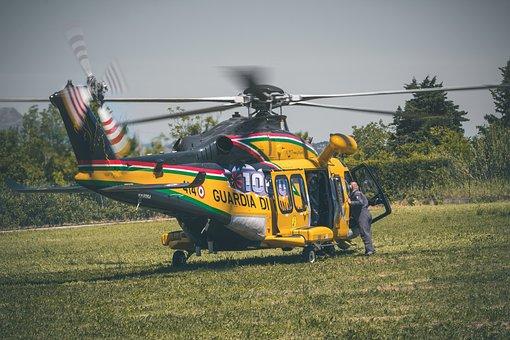 Helicopter, Pilot, Propeller, Flight, Aviation