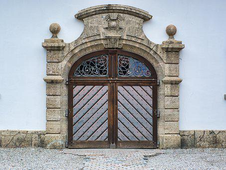 Entrance Door, Gate, Input, Goal, Door, Historically