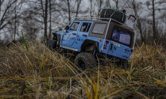 Jeep, Jeep Rubicon, Rc, Car, Auto, Off-road, Truck