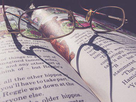Storybook, Glasses, Book, Read, Library, Fantasy, Words