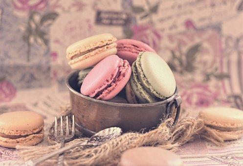 Macarons, Pastries, Cookies, Sweetness, Nibble, Pastel