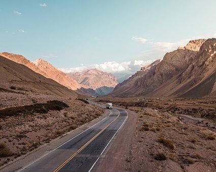 Mountain, Cordillera, The Andes, Argentina, Mendoza