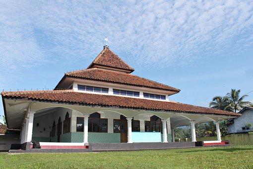 The Mosque, Muslim, Islam, Blue Sky, Nature, Landsca