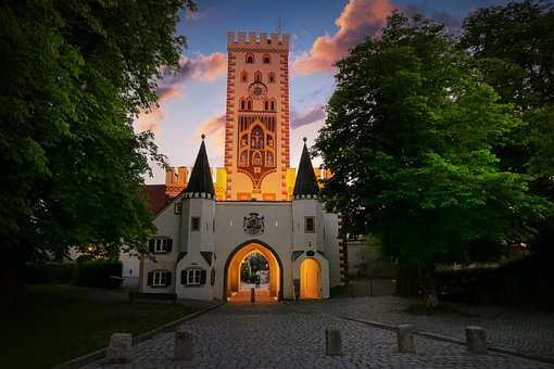 Bayer Gate, Landsberg, Architecture, Historic Center