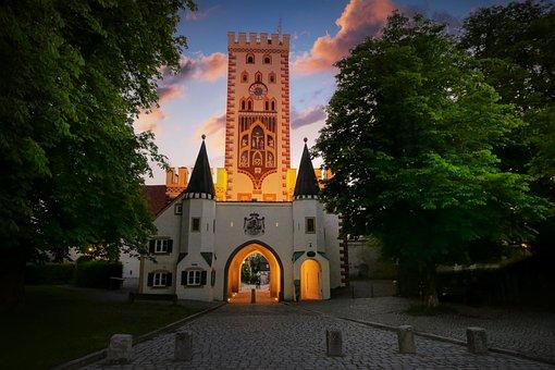 Bayer Gate, Landsberg, Architecture, Historic Center