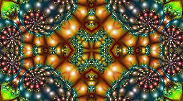 Background, Abstract, Fractal, Texture, Design