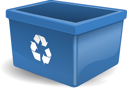 Recycling, Container, Bin, Boxes, Waste