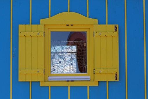 Wooden Windows, Caravan Window, Caravan, Circus Wagon