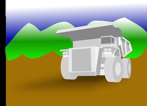 Construction Vehicle, Mining, Truck, Lorry, Caterpillar