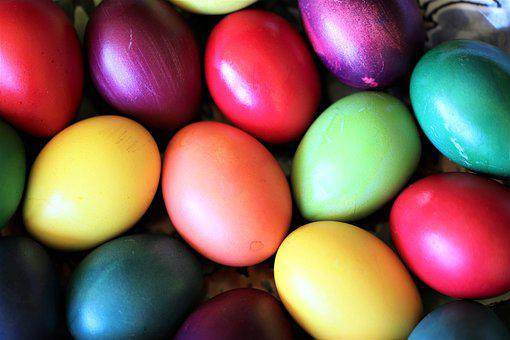Eggs, Easter, Colorful, Spring, Festival, Custom, Egg