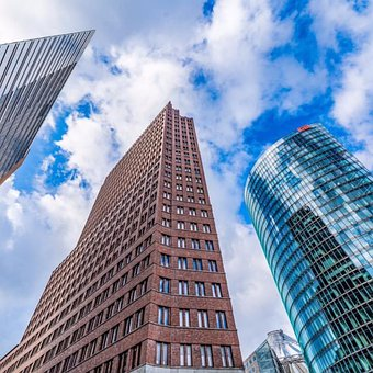 Berlin, Sky, Germany, City, Landmark