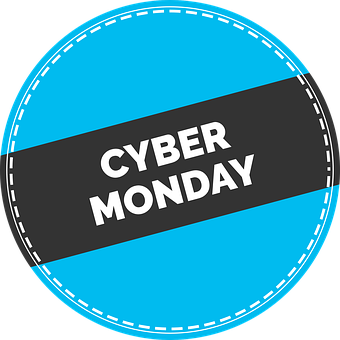 Cyber, Monday, Sticker, Ecommerce, Offer, Sale