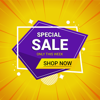 Special Sale, Sale Banner, Sales