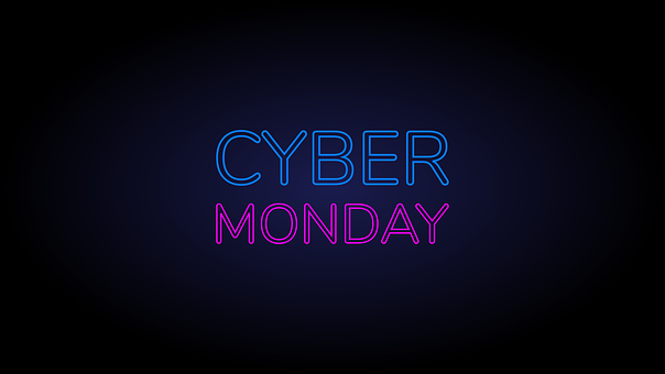 Cyber, Monday, Neon, Sale, Ecommerce, Shop, Offer