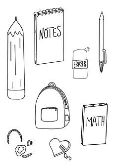 School Supplies, School, Supplies