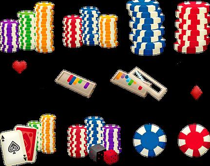 Poker Chips, Gambling, Card Game, Casino, Chips, Gamble