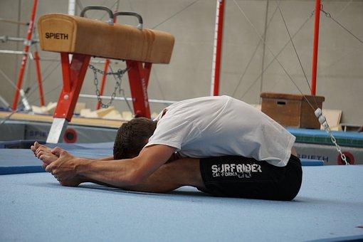 Gymnast, Dehnung, Turner, Gymnastics, Sport, Dynamics