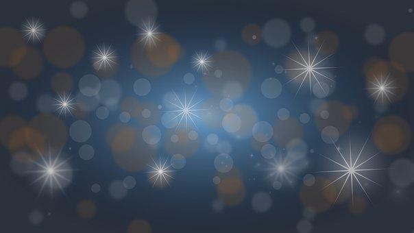 Christmas, Blue, Decoration, Vacations, Celebration