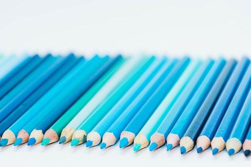 Color, Pencil, School, Paint, Colorful, Rainbow