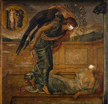 Cupid, Painting, Covid-19, Pre-raphaelite, Historical