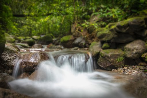 Panama, Waterfall, Long Exposure, Nature