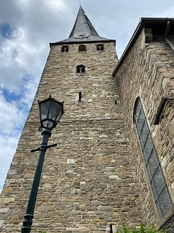 Church, Perspective, Building, Architecture, Religion