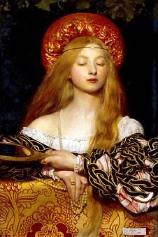 Frank Cowper, Artwork, Pre-Raphaelites