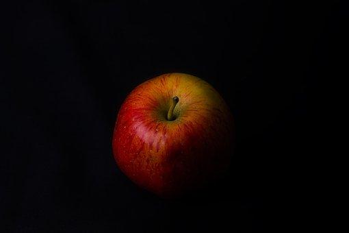 Red, Apple, Fine Art, Shadow, Orange