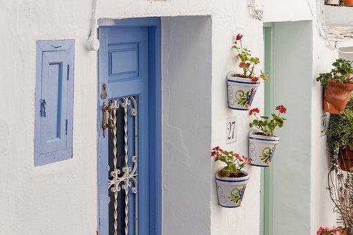 Spain, Spanish, Europe, House, Andalusia, Frigiliana
