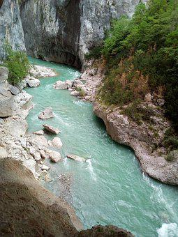 The Verdon, Turquoise Water, Nature