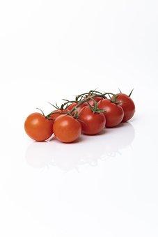 Tomato, Ruby Tomato, Panicle, Vegetables, Tomatenrispe