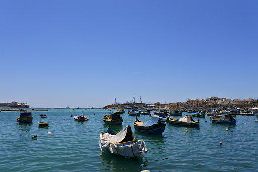 Port, Boats, Ships, Architecture