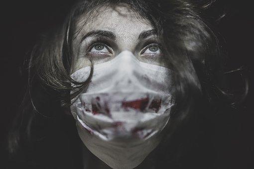 Coronavirus, Mask, Woman, Portrait, Protection, Virus