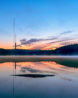 Delsjön, Gothenburg, Walk, Cloud, Scandinavia, Sweden