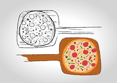 Pizza, Flour, Dough, Delicious, Italian