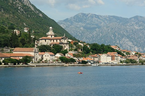 Montenegro, Boca, Kotor, Sea