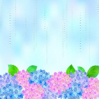 Digital Paper, Rain, Japanese, Rainbow, Raindrops