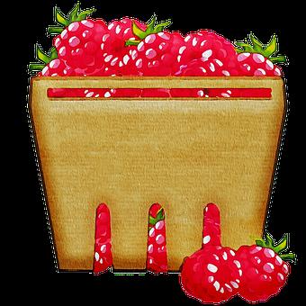 Watercolor Fruit, Bowl Of Fruit, Basket Of Fruit