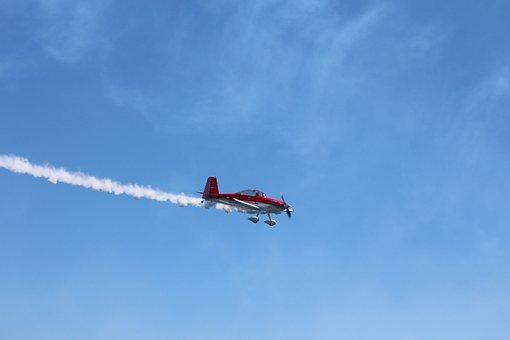 Air Show, Aircraft, Plane, Tuvalu, Airstrip, Flight