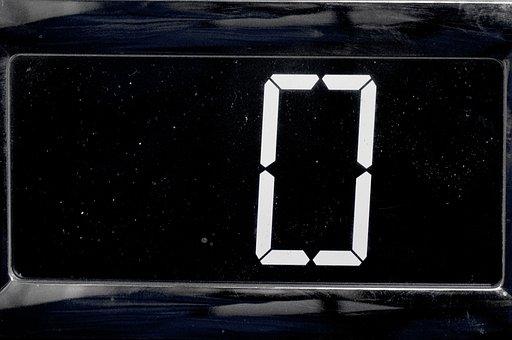 Zero, Electronic, Digit, Black, One, Bomb, Brown, Bulb