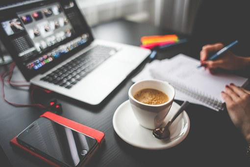 Drink, Coffee, Work, Create, Build, Office, Workspace