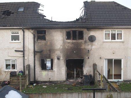 House Fire, Burn, Destroyed, Abandoned, Burned