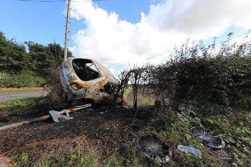 Car Crash, Accident, Car Accident, Wreck, Car Wreck