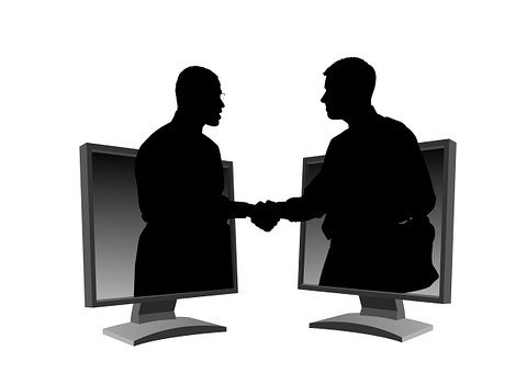 Monitor, Man, Men, Shaking Hands, Agreement, Contract