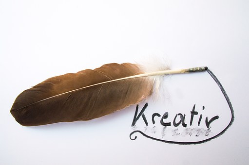 Feather, Creative, Charcoal Drawing, Creativity