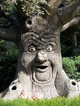 Efteling, Enchanted Forest, Theme, Tree, Face